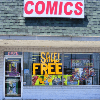 Evicted Floridan Comic Shop Owner, Selling Comics To Pay Hotel Room