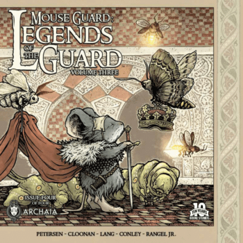 It's All About Coming Together In Mouse Guard: Legends Of The Guard Vol. 3 #4
