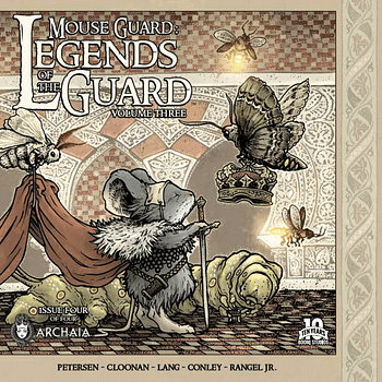 Its All About Coming Together In Mouse Guard: Legends Of The Guard Vol. 3 #4