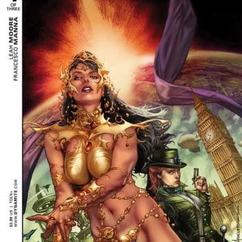 Exclusive Extended Previews Of Swords Of Sorrow: Dejah Thoris / Irene Adler And King: Jungle Jim