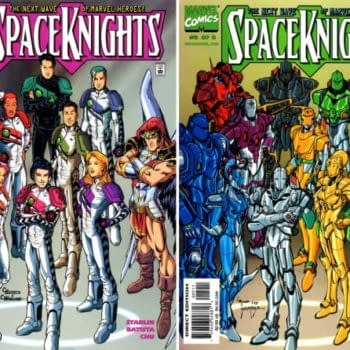 Marvel To Publish A Rom-Less Space Knights Series?