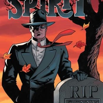 Exclusive Extended Previews For Will Eisner's The Spirit #1 And More
