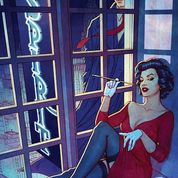 Jenny Frison Covers Will Eisners The Spirit For ComiXology