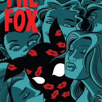 The Fox Faces The Kiss Of Death! Preview Issue #3 Of Fox Hunt From Dark Circle