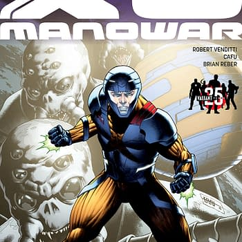 Valiant Previews For Unity #19 And The X-O Manowar: Valiant 25th Anniversary Special