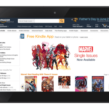 Marvel Put Single Issues On The Kindle, And Renew ComiXology Deal