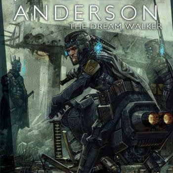 Taking Over The Waking World – Preview Poet Anderson: Dream Walker #2 From Magnetic Press