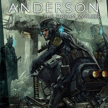 Taking Over The Waking World &#8211 Preview Poet Anderson: Dream Walker #2 From Magnetic Press