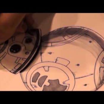 Transformers' Livio Ramondelli Draws Droid BB-8 (VIDEO)