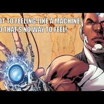 A Comic Show – Cyborg, Can You Dig It?