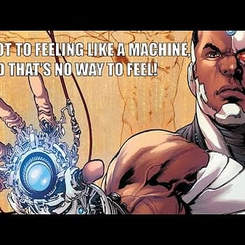 A Comic Show &#8211 Cyborg Can You Dig It