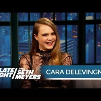 Cara Delevingne Plays Two Roles In One For Suicide Squad