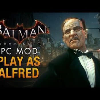 Be The Butler In This Awesome Alfred Arkham Knight Mod