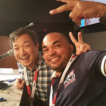 SDCC '15: Drawing Alongside Jim Lee During His Comic Con Panel