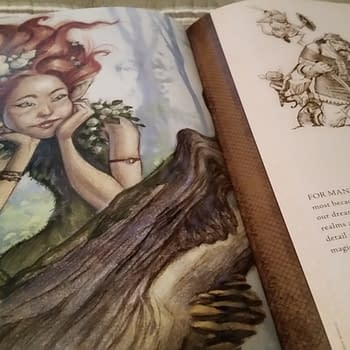 Explore The Realms Of Tony DiTerlizzi's Roleplaying Game Art