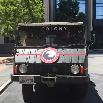SDCC '15: The Paramilitary SUVs Of Colony/Uber Ferrying Fans