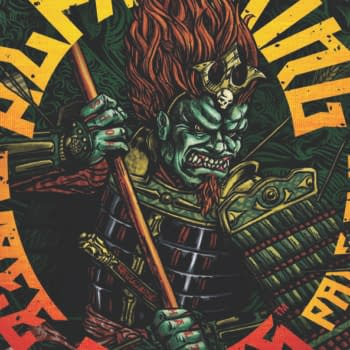 Heavy Metal Hits Lollapalooza, And Brings Bisley And Azzarello's Rise Of The Alpha King