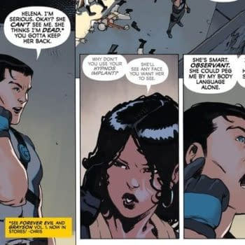 Dick Grayson Needs To Get A Butt Disruptor – Batgirl Annual Spoilers