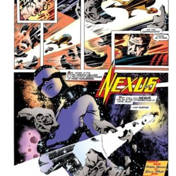 Steve Rude And Mike Baron Revive Nexus  As A Weekly Strip Funded By Kickstarter