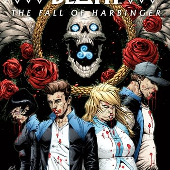 First Look At The Book Of Death: The Fall Of Harbinger #1