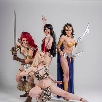 Behind The Scenes Of The Swords Of Sorrow Cosplay Cover