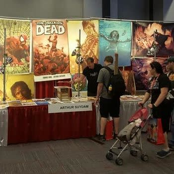 Table Swipe File: Arthur Suydam At Montreal Comiccon (Response Update)