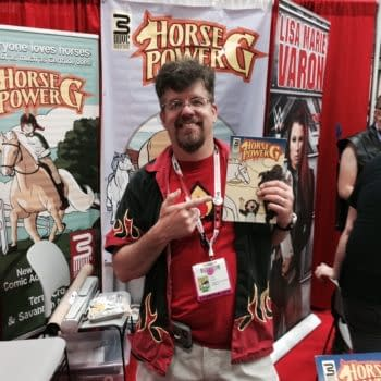 Terry Cronin On Creator-Owned Comics, Students Of The Unusual, And Horse Power G