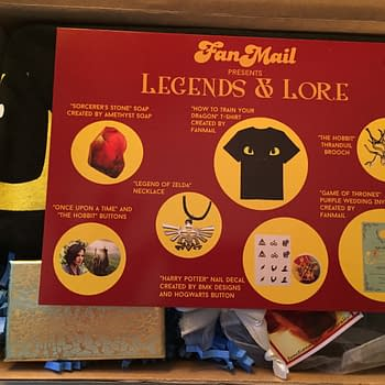 New Lady Geek Subscription Box Fan Mail Delivers Classic Fantasy