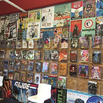 Bleeding Cool Tours The New IDW Offices And The San Diego Comic Art Gallery