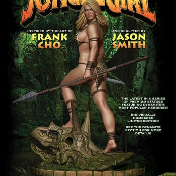 Frank Chos Jungle Girl Joins The Women Of Dynamite Statue Collection