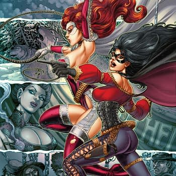 Joyce Chin Covers The Final Issue Of Lady Rawhide / Lady Zorro