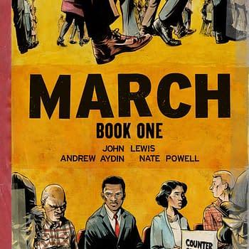 SDCC 15: Congressman John Lewis Re-Enacts March For His Graphic Novel