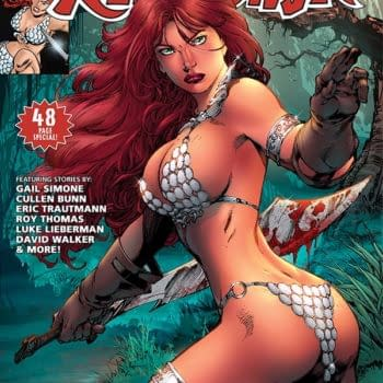 Exclusive Extended Previews Of Red Sonja 1973 And Swords Of Sorrow: Vampirella / Jennifer Blood