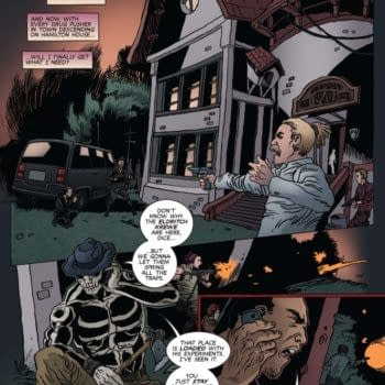 Writer's Commentary For Reanimator #4 By Keith Davidsen