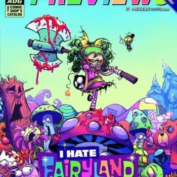 August Previews Covered By I Hate Fairyland & Batman & Robin Eternal