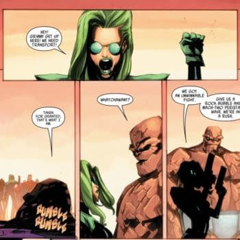 Future Secrets Of The Battleworld, With The Thing, Thanos And CB Cebulski