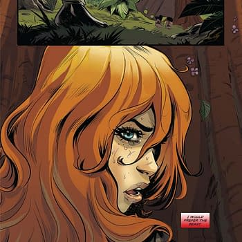 Exclusive Extended Preview: Swords Of Sorrow: Red Sonja / Jungle Girl #1