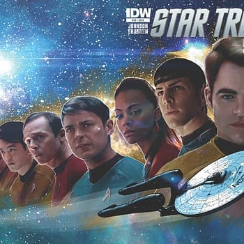 SDCC '15:Star Trek To Get Special 50th Issue Plus New Starfleet Academy Series