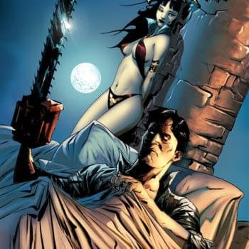 Exclusive Extended Preview Of Vampirella / Army Of Darkness #1
