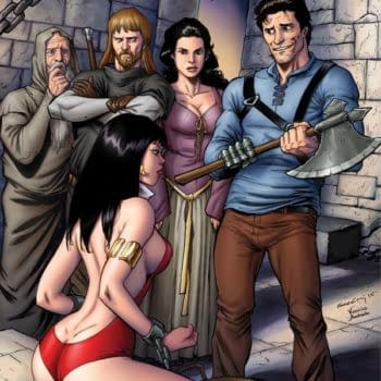 """""""A Silly, Grotesque Lost Chapter."""" – Mark Rahner Talks Vampirella / Army of Darkness"""