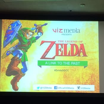 SDCC 15: VIZ Brings Back A Classic Zelda Story From A Modern Master