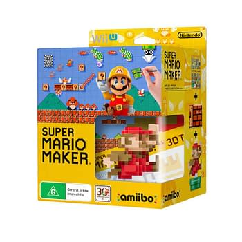 Super Mario Maker Getting Limited Editions With Neat Retro Mario Amiibos