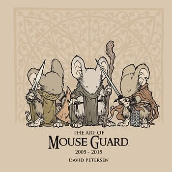 Archaia Releases The Art Of Mouse Guard: 2005-2015 Next Month
