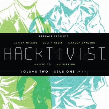 Hacktivist Vol. 2 Debutes This Month From Archaia