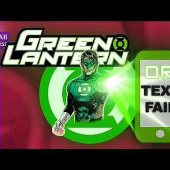 Green Lantern Or Text Fail &#8211 Including David And Meredith Finch