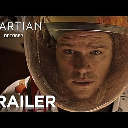Second Official Trailer For The Martian Starring Matt Damon