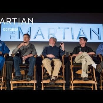 """""""A Love Letter To Science"""" – Ridley Scott, Matt Damon And NASA Talk About The Martian"""
