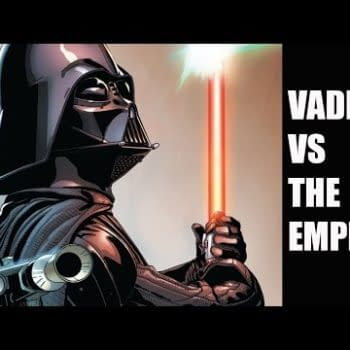 A Comic Show – Vader Stands On Guard