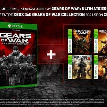 Gears Of War: Ultimate Edition Comes With The Entire Series As Backwards Compatible