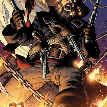 Free On Bleeding Cool &#8211 Blackbeard: The Legend Of The Pyrate King #1